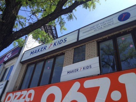 The outside of MakerKids