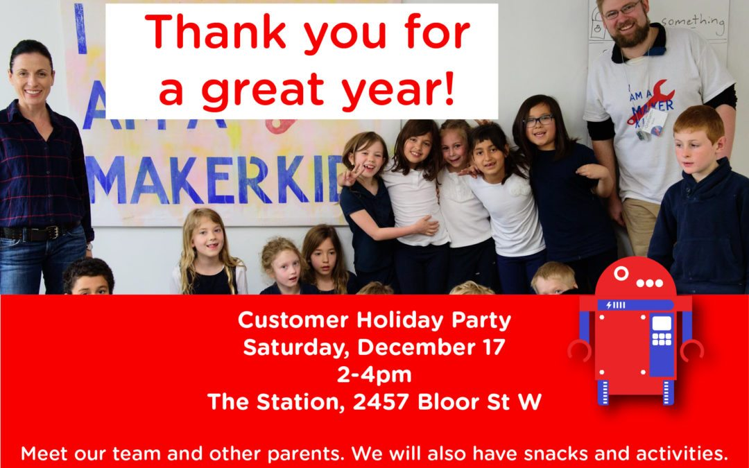 Join us for a Holiday Party!